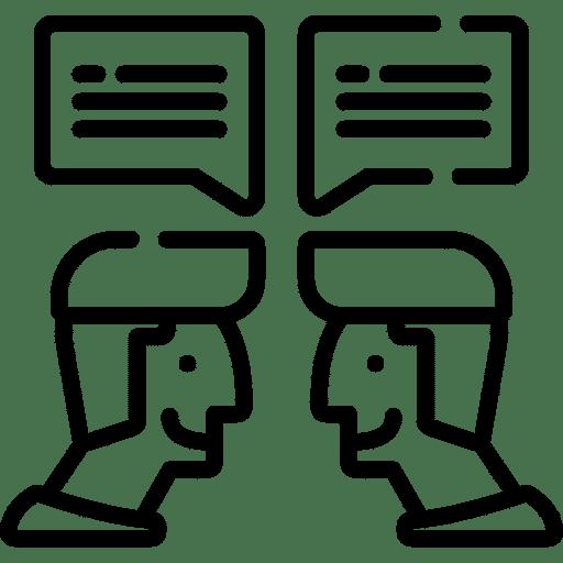 Filmy korporacyjne - ikona rozmowy